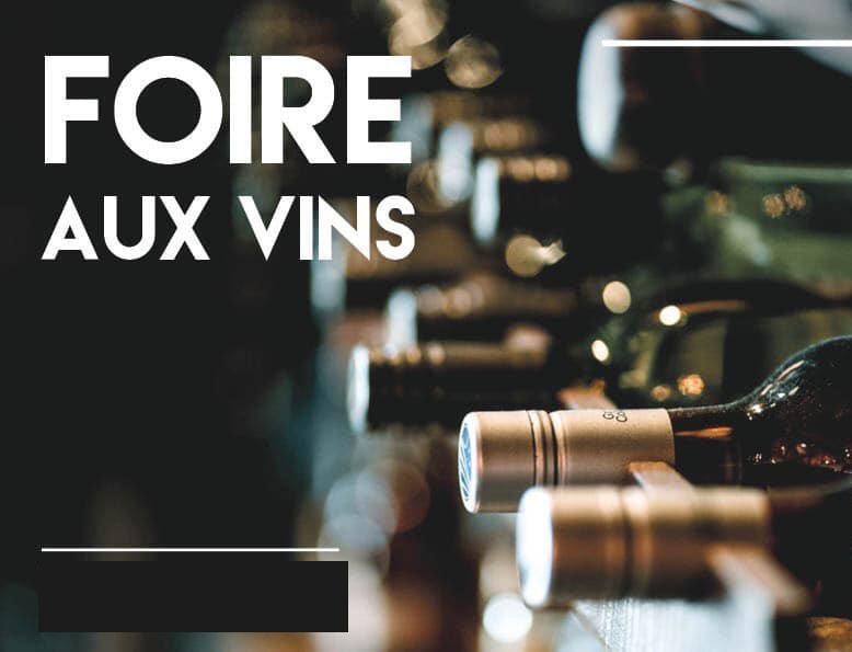 évènement foire aux vins